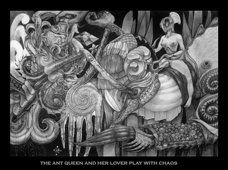 the ant queen and her lover by Deborah-Valentine
