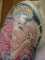 Moon Revenge - Usagi Tattoo by isma-angel