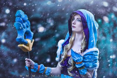 Crystal Maiden Cosplay - DotA 2 by ddenizozkan