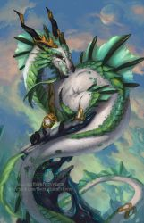 2014 Zodiac Dragons - Capricorn by The-SixthLeafClover