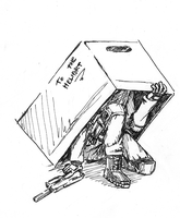 Snake In A Box by Robot-Ninja