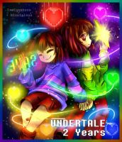 Undertale 2nd Anniversary: We will SAVE them  by Ninetaleon
