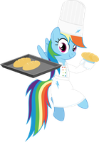 Baking confectionery Rainbow Dash by hotsun6392