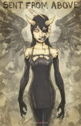 Bendy And The Ink Machine Alice Angel by ChrisOzFulton