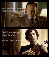 Ignoring Mycroft by Only4sookie