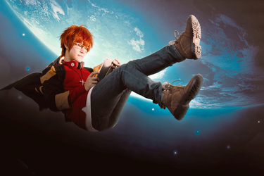 707 Space Station - Mystic Messenger by bummyspears