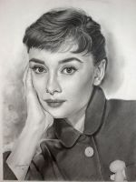Audrey Hepburn - series 7th by Hongmin