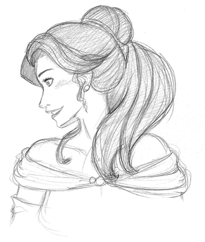 Belle by PiefaceMcGee
