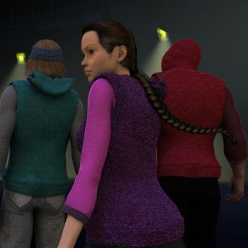 Warm Colors for the Vandals Hoody (freebie) by katfeete