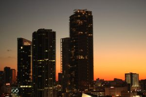 miami sunset by serhat2174
