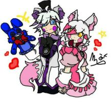 The Funtime lovers (FNAF SL) by JIKO670