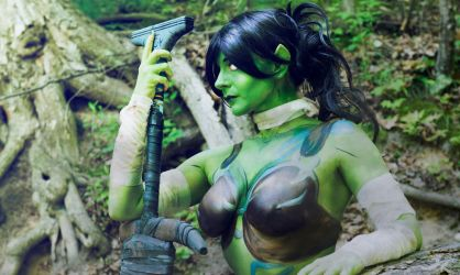 Garona Orc Body Paint by MandaCowled