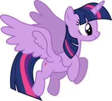 Mlp Fim twilight sparkle (...) #4 vector by luckreza8