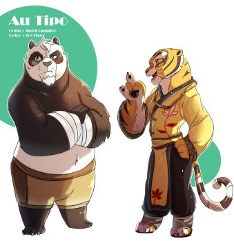 AU Middle-aged Tipo by 7oy7iger