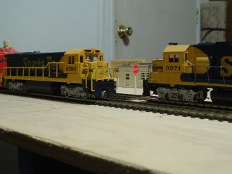 Woodstock and Southern GP38M-2 #4811 by Tracksidegorilla1