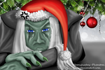 Merry grumpy Christmas by Moonshadow-Phantom