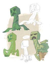 Creepers~! by LiLaiRa