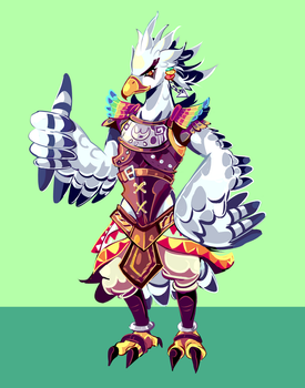Teba - Commission by MarlonLeal