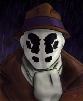 Rorschach Bust by BABAGANOOSH99