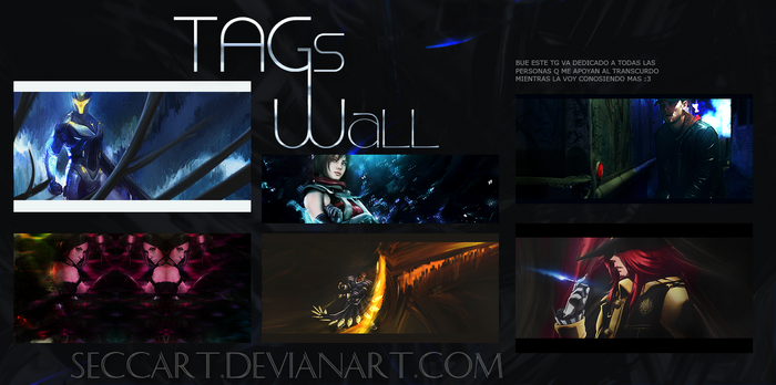 Tags Wall  XVIII by SeccArt