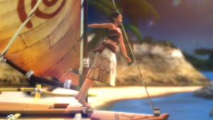 MMD | Moana Pose | + Boat Model DL by Games-Anjalea-MMD