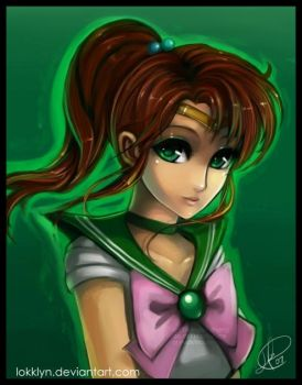 Sailor Jupiter by Lokklyn
