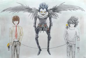 Death Note - Sore loser by Lwenna