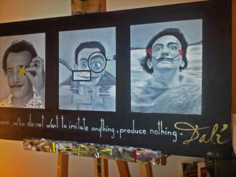Dali tribute by Adaptic