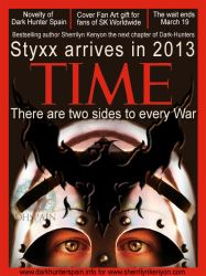 Fan Art: Styxx in cover Time magazine by Dark-Hunter-Spain