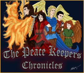 The Peace Keepers Chronicles Promo Poster by starstrike1