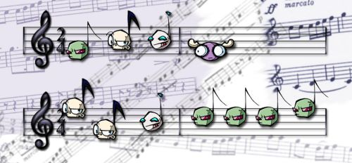 IZ Music Notes by worm-baby
