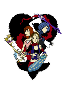 Kingdom Hearts with Haley by DeviouslyMoo