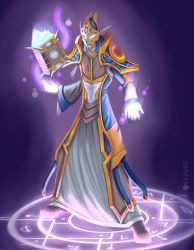 Highborne Mage by Dhaia