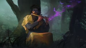 Flute of Knowledge by Kashivan
