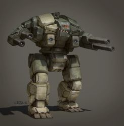 Battletech - Maus by Shimmering-Sword