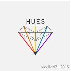 HUES - Light Logo by nigelmnz
