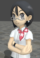 XPS Pokemon Sun and Moon Female Office Worker by zoid162010