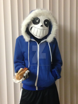Sans the Skeleton Costume 1 by Shadowlion2