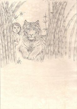 Tiger WIP 2 by Maitia