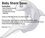 Baby Shark Base by Xeshaire