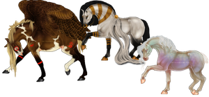 MINI-REFERENCES: ADOPTABLES by elegant--tragedy