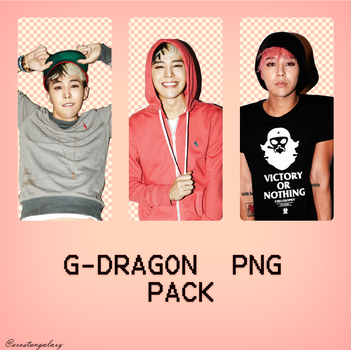 G-Dragon PNG Pack by exostangalaxy
