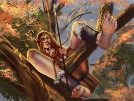 Wood elf by Dr--Miasma