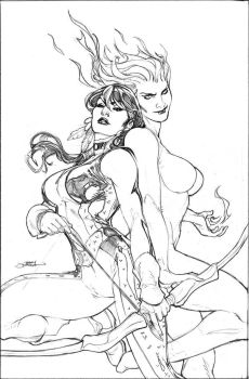 Young X-Men 2 Cover Pencils by TerryDodson