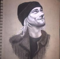 Kurt Cobain by KeitimariArt
