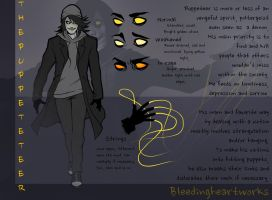 Puppeteer: Character Sheet by BleedingHeartworks