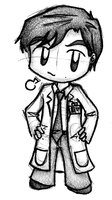 'Nother chibi doodle of him by dongpeiyen1000