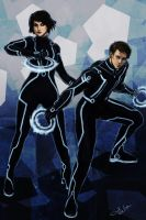 TRON Legacy by DancinFox