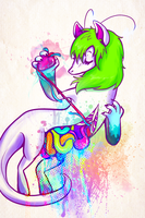 RAINBOWS AND ORGANS by Skelefrog