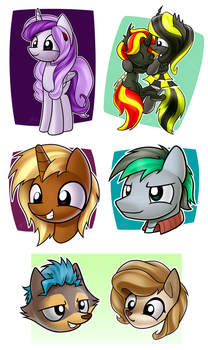Galacon Commissions Part I by Dori-to